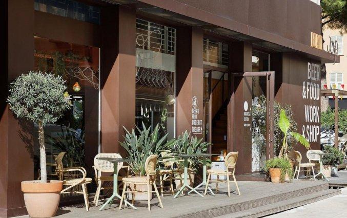 Terras van Hotel du Pin Nice Port in Nice