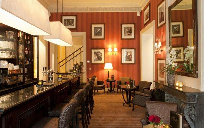 Bar van Grand Hotel Casselbergh in Brugge