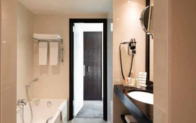 Badkamer van Grand Hotel Casselbergh in Brugge
