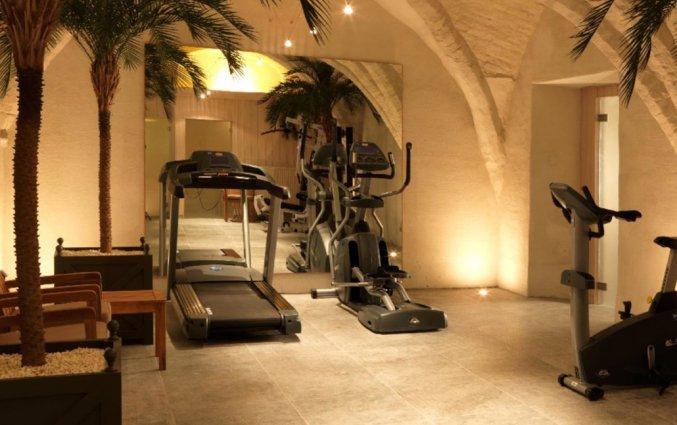 Fitnessruimte van Grand Hotel Casselbergh in Brugge