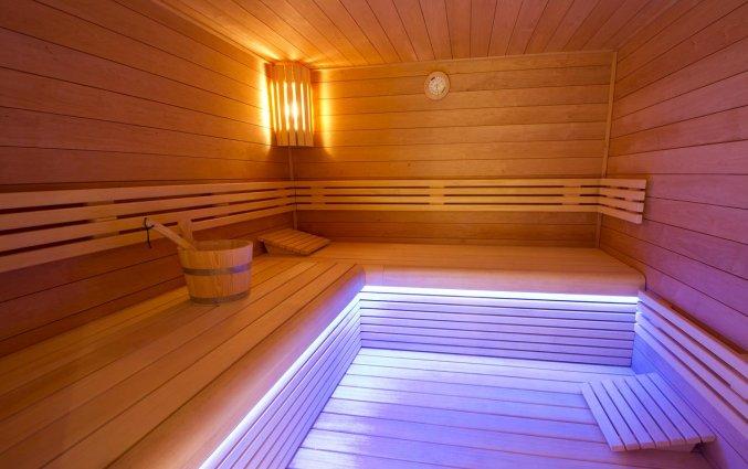Sauna van Hotel Bero aan de Belgische Kust