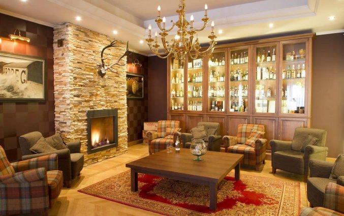 Lounge van Hotel Bero aan de Belgische Kust