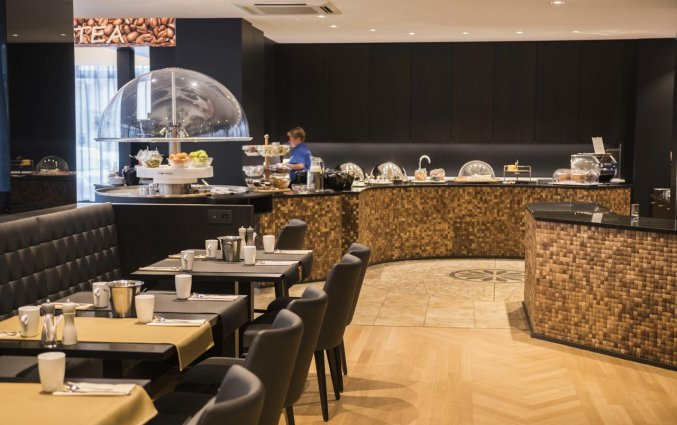Ontbijtzaal van Hotel Bero aan de Belgische Kust