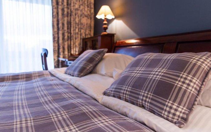 Tweepersoonskamer van Hotel Duinhof the Original Relais aan de Belgische Kust