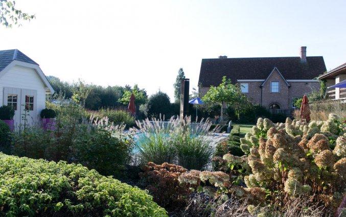 Tuin van Hotel Duinhof the Original Relais aan de Belgische Kust