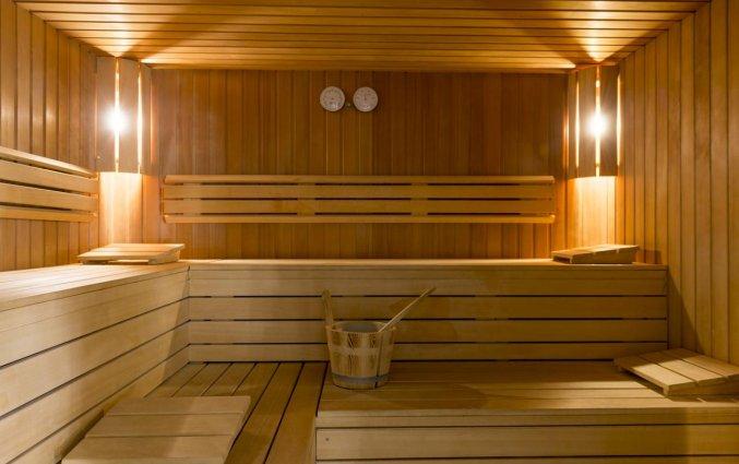 Sauna van Hotel Duinhof the Original Relais aan de Belgische Kust