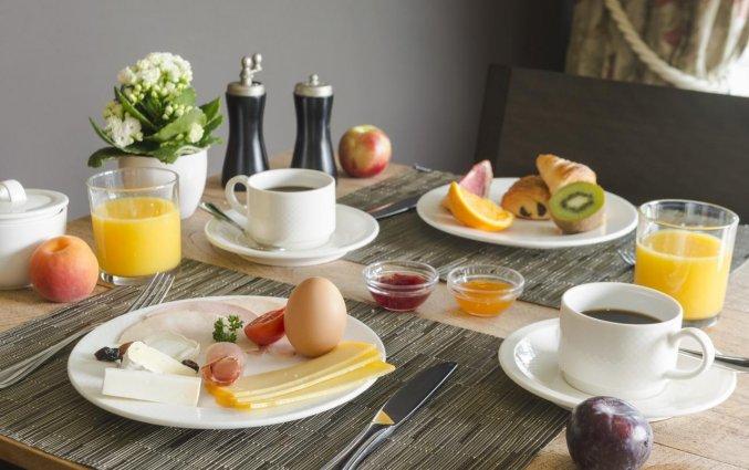 Ontbijt van Hotel Duinhof the Original Relais aan de Belgische Kust