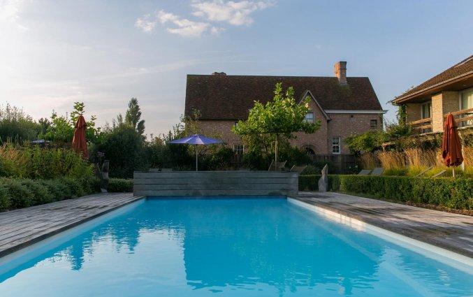 Zwembad van Hotel Duinhof the Original Relais aan de Belgische Kust