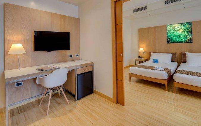 Tweepersoonskamer van Hotel Best Western Plus Bologna in Venetie