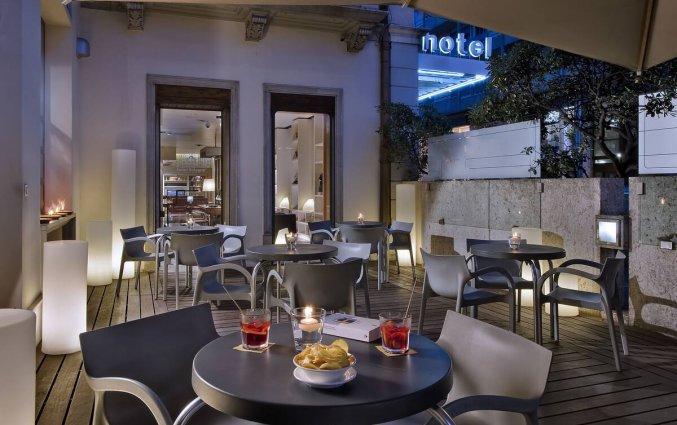 Terras van Hotel Best Western Plus Bologna in Venetie