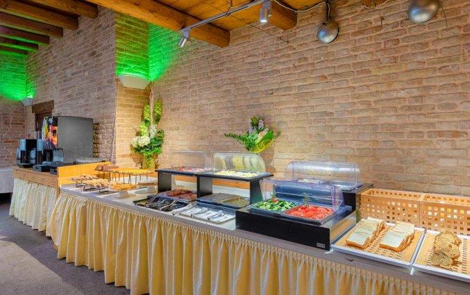 Ontbijtzaal van Hotel Eurostars Residenza Cannaregio in Venetie