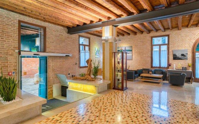 Lobby van Hotel Eurostars Residenza Cannaregio in Venetie