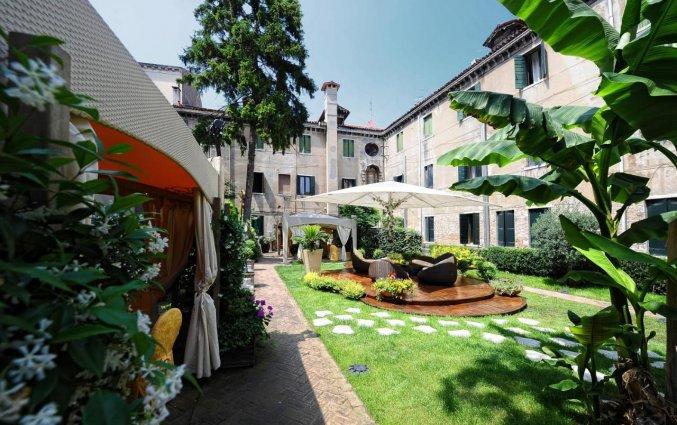 Binnenplaats Hotel Abbazia