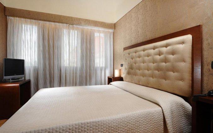 Tweepersoonskamer bij Hotel Abbazia