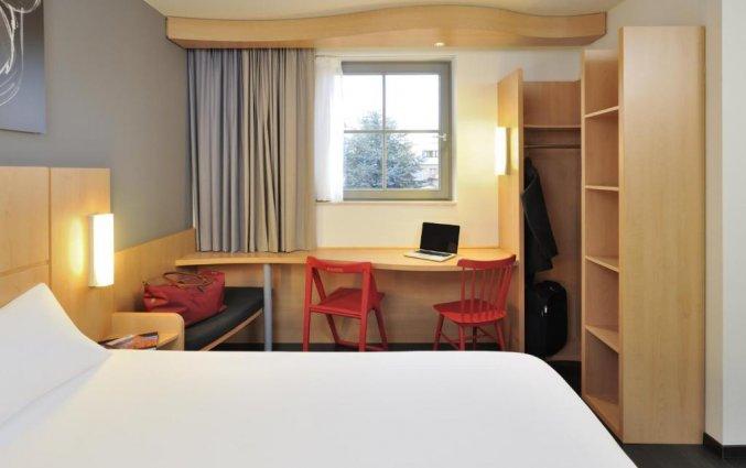 Tweepersoonskamer van Hotel ibis De Panne aan de Belgische Kust