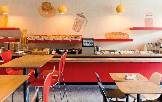 Ontbijtzaal van Hotel ibis De Panne aan de Belgische Kust