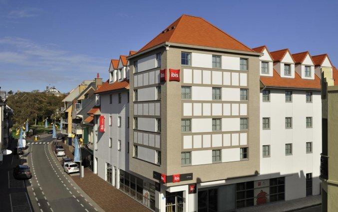 Gebouw van Hotel ibis De Panne aan de Belgische Kust