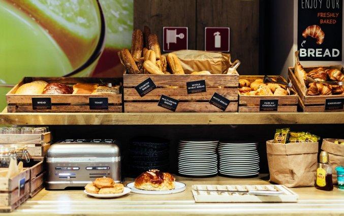 Ontbijt van Hotel ibis De Panne aan de Belgische Kust
