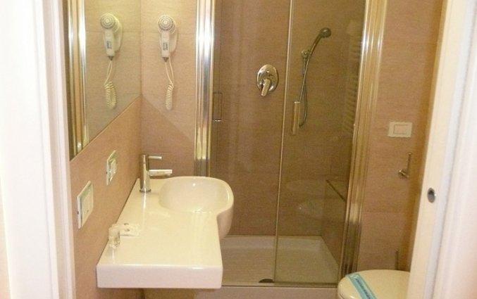 Badkamer van een tweepersoonskamer van Eurohotel in Milaan