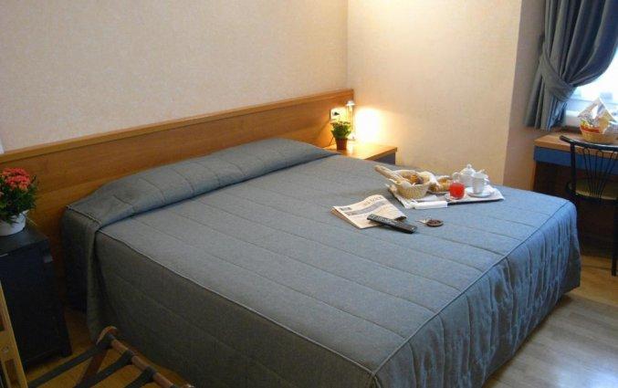 Tweepersoonskamer van Eurohotel in Milaan