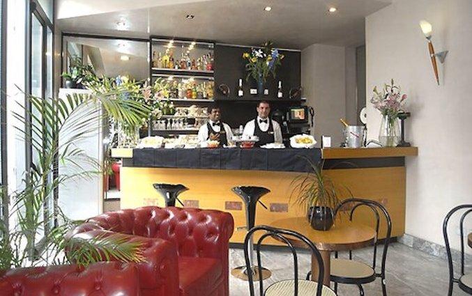 Bar van Eurohotel in Milaan