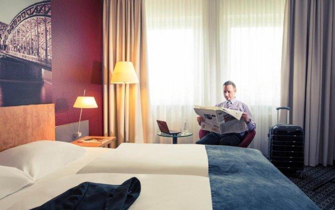 Tweepersoonskamer van Hotel Mercure Severinshof in Keulen