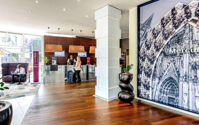 Lobby van Hotel Mercure Severinshof in Keulen