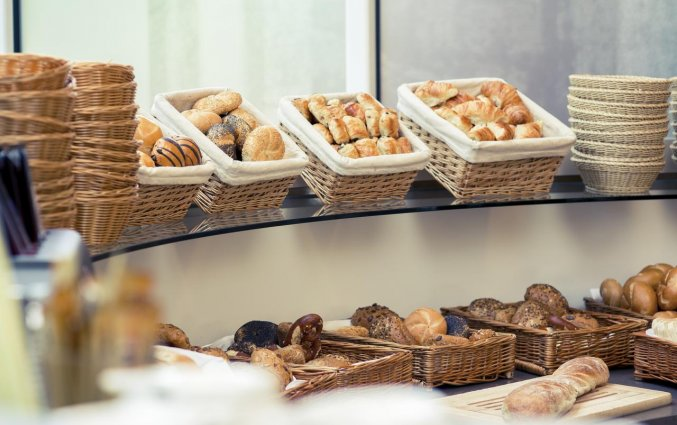 Ontbijtbuffet van Hotel Mercure Severinshof in Keulen