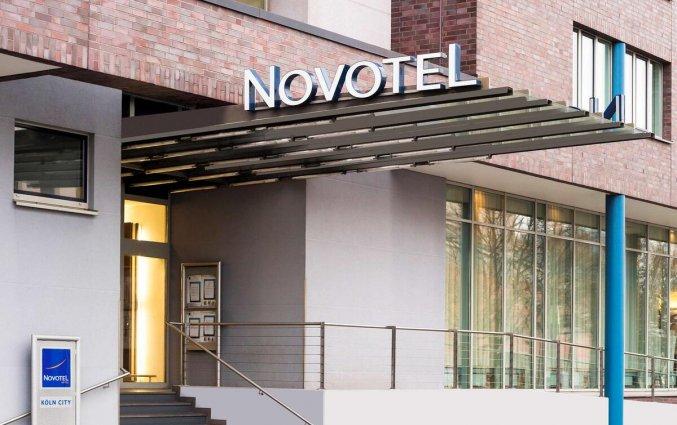 Entree van Hotel Novotel Koln City in Keulen
