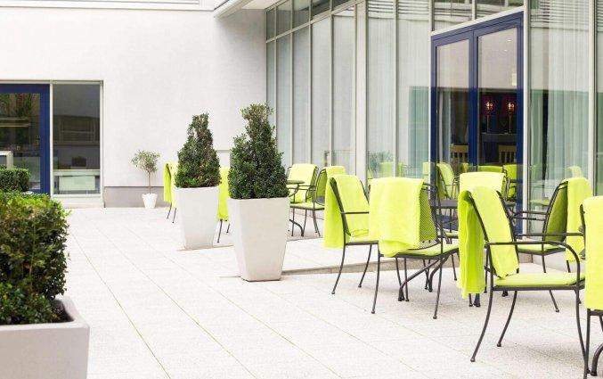 Terras van Hotel Novotel Koln City in Keulen