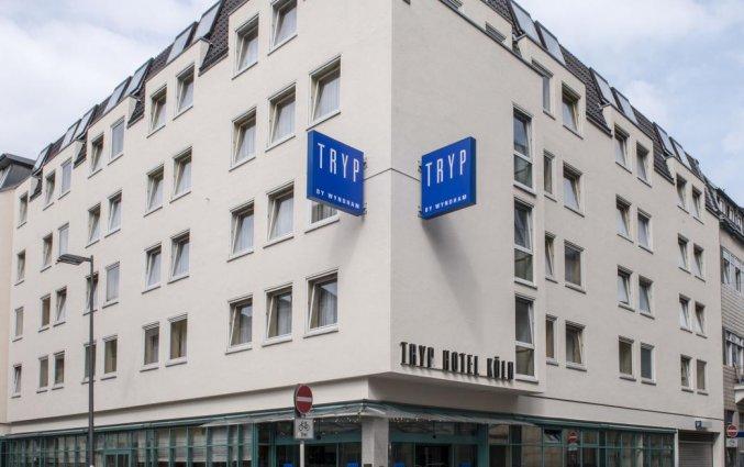 Gebouw van Hotel TRYP by Wyndham Köln City Centre in Keulen