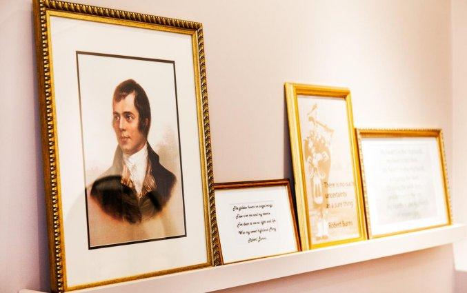 Decoratie van een kamer van Hotel Indigo Edinburgh Princess Street