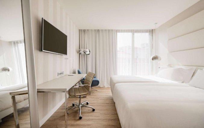 Tweepersoonskamer van Hotel NH Malaga in Malaga