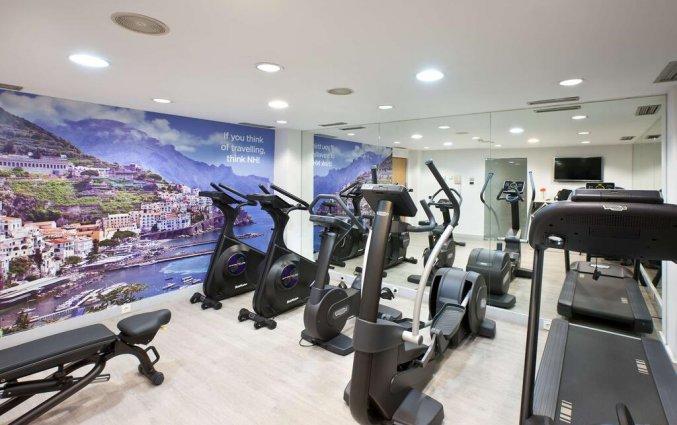 Fitnessruimte van Hotel NH Malaga in Malaga