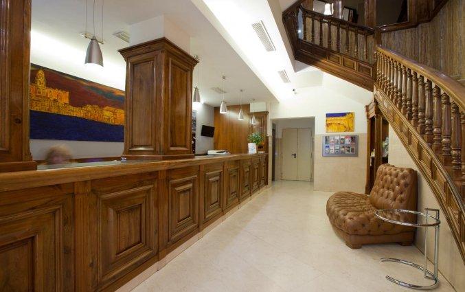 Receptie van Hotel Don Curro in Malaga