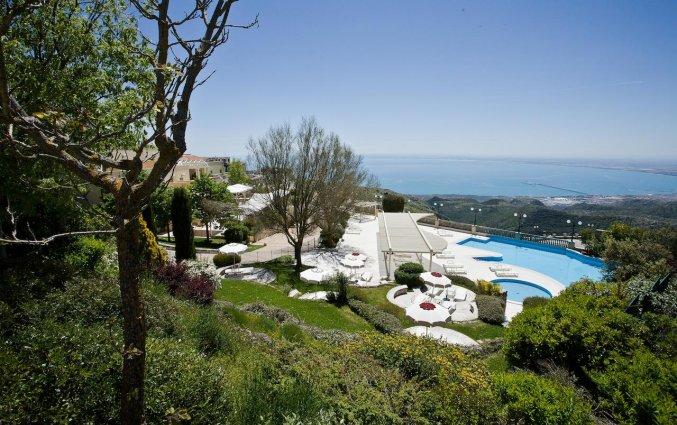 Tuin van Hotel Palace San Michele in Puglia
