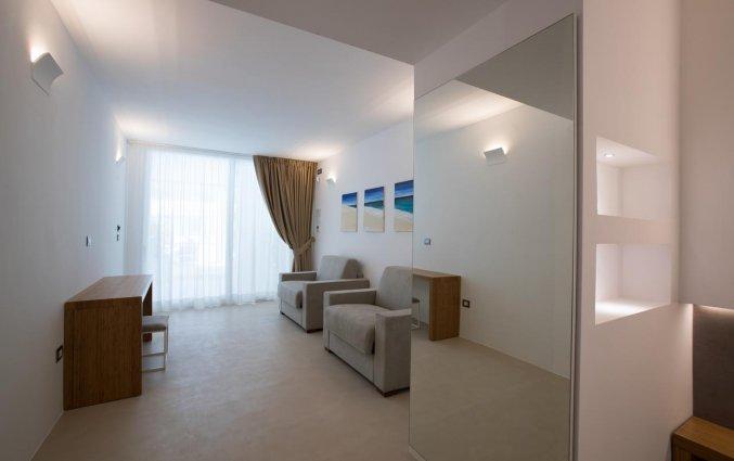 Tweepersoonskamer van Hotel Seven Suite in Puglia