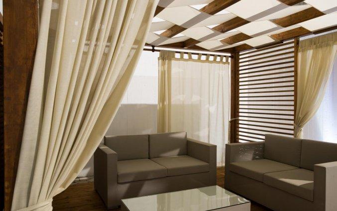 Lounge van Hotel Seven Suite in Puglia