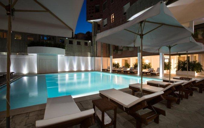Zwembad van Hotel Seven Suite in Puglia