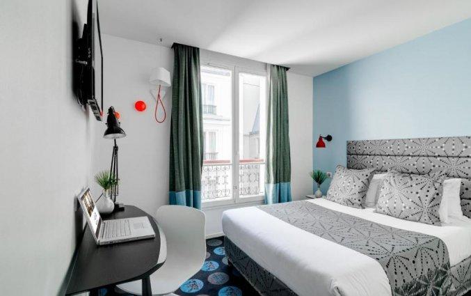Tweepersoonskamer van Hotel Astoria Astotel in Parijs