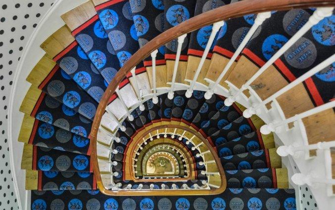 Trap van Hotel Astoria Astotel in Parijs