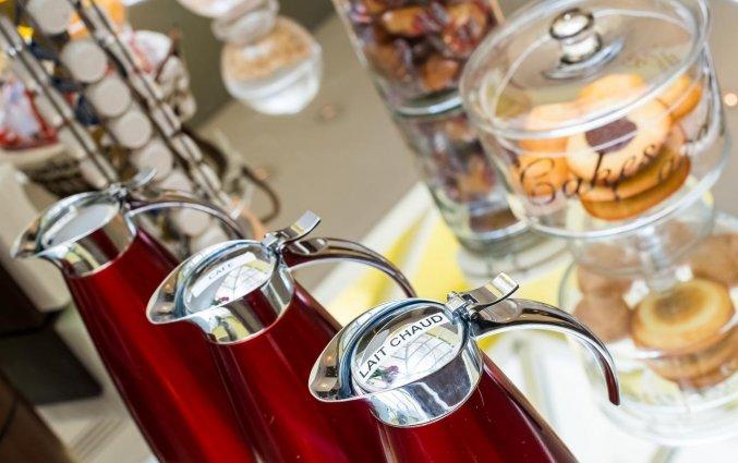 Ontbijtbuffet van Hotel Astoria Astotel in Parijs