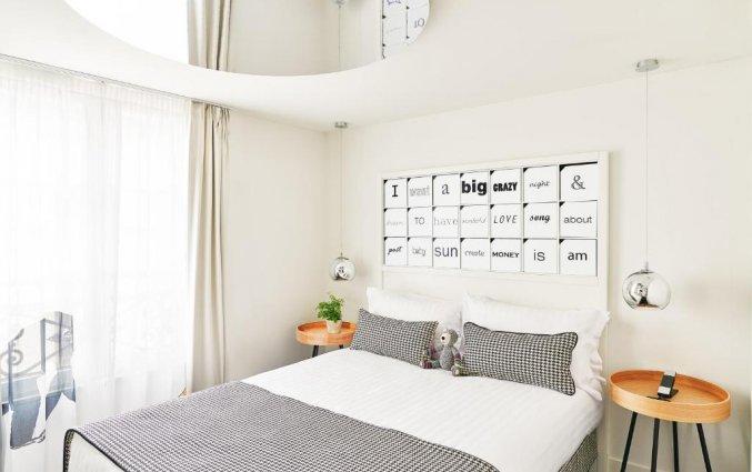 Tweepersoonskamer van Hotel Joke Astotel in Parijs