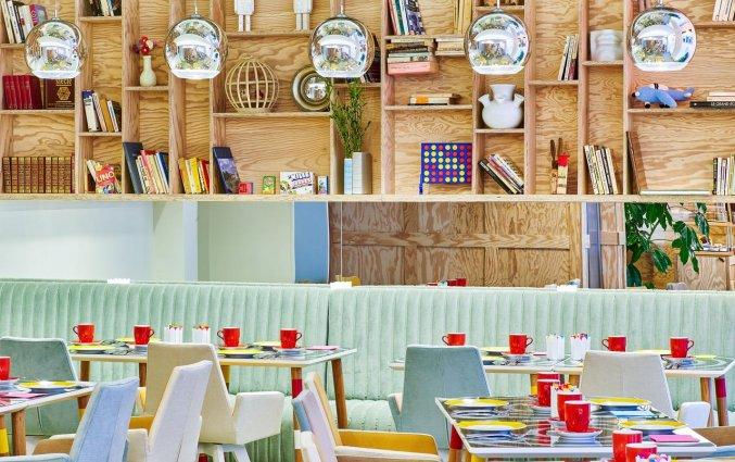 Ontbijtzaal van Hotel Joke Astotel in Parijs