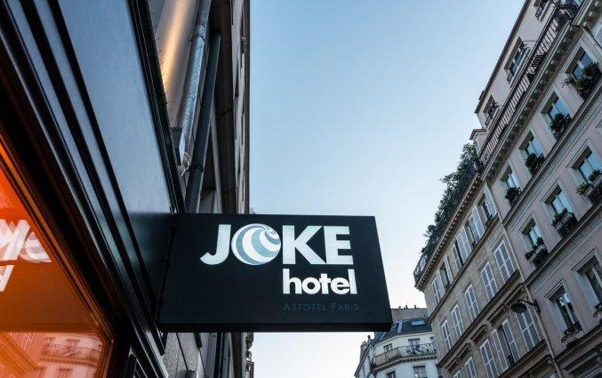 Gebouw van Hotel Joke Astotel in Parijs