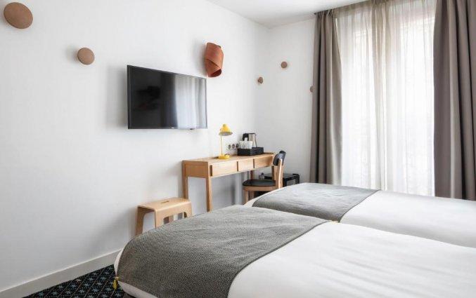 Tweepersoonskamer van Hotel Palm Astotel in Parijs