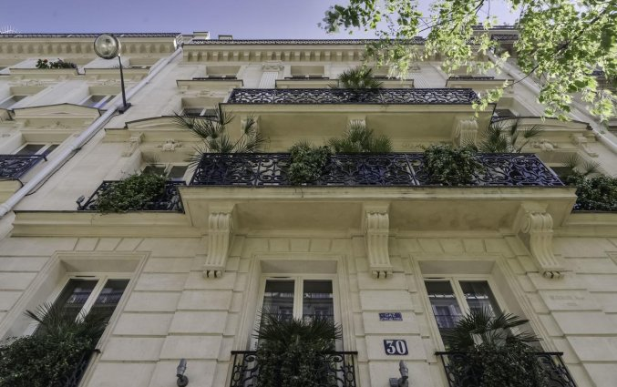 Gebouw van Hotel Palm Astotel in Parijs