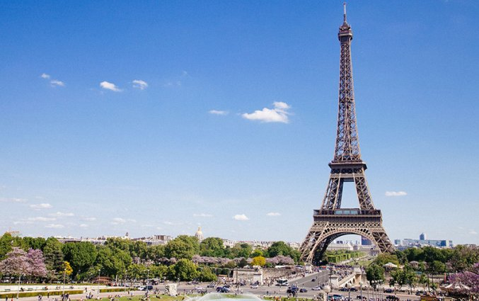 ParijUitzicht Eiffeltoren
