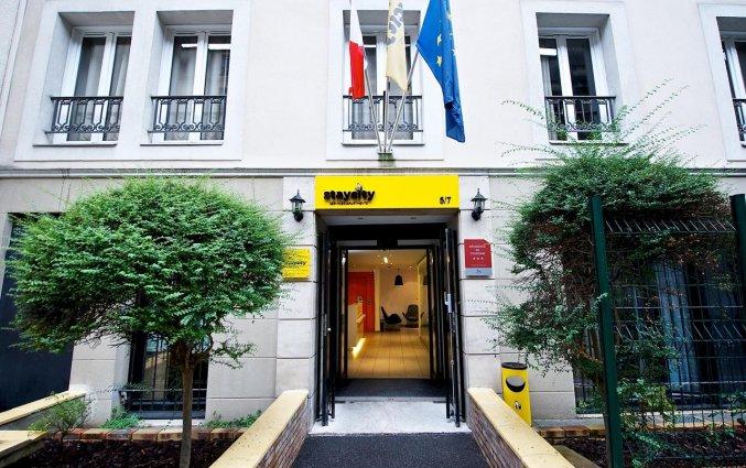 Gebouw van Aparthotel Staycity Gare de l'Est in Parijs