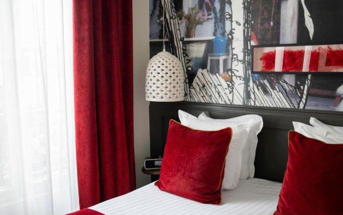 Tweepersoonskamer van hotel Le 123 Sebastopol - Astotel in Parijs